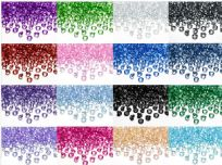 Coloured Diamond Confetti 12mm